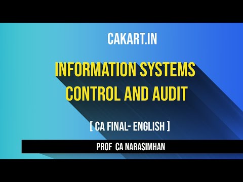 Types of unit testing  Information Systems Control and Audit Lecture  by CA Narasimhan