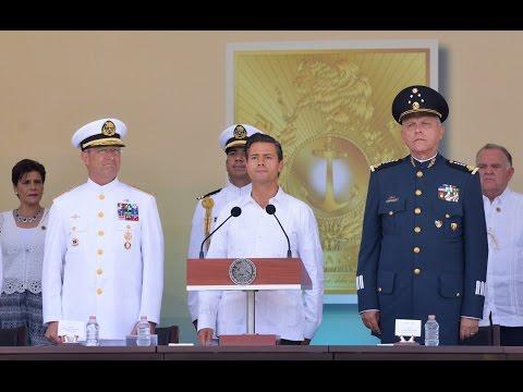 Gesta Heroica Puerto de Veracruz y Jura de Bandera de Cadetes de la Escuela Naval Militar