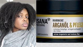 Review - Isana Professional // Arganöl & Pflege Haarmaske *Feuchtigkeitskur