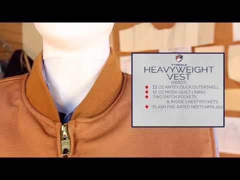 FR Clothing Heavyweight Vest Tyndale K690T