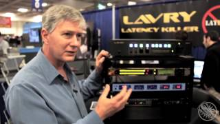 YouTube: Vintage King @ AES: Lavry Latency Killer