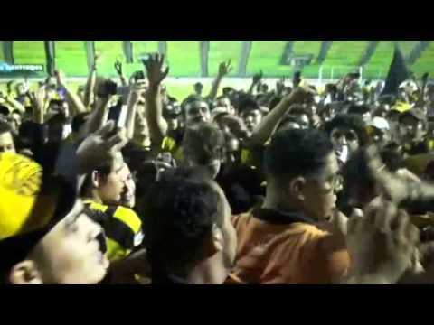 """AVALANCHA SUR! Tachira es local en caracas parte.2"" Barra: Avalancha Sur • Club: Deportivo Táchira"