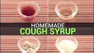 Homemade Cough Syrup | How To Make Cough Syrup at Home | Home-Remedies | DIY
