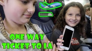 One Way Ticket to LA 🛫 (WK 350) | Bratayley