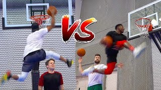 2v2 SLAM DUNK H.O.R.S.E. and WORLD RECORD CHALLENGE!