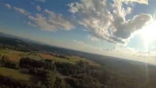 Little Sunset Forest Fun w/ FPV Drone
