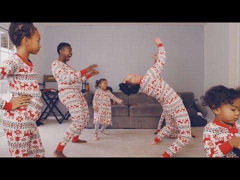 FAMILY CHRISTMAS DANCE ACCIDENT 🤣 MAZELEE VLOGMAS DAY 10
