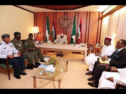 UPDATE: Buhari orders service chiefs to deal with IPOB's secret army, Boko Haram