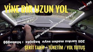 Didim - Ankara Yol Vlog'u   VW Şerit Takip Sistemi Nedir?   Kula Rampası Çıkış   TDI Yakıt Tüketimi
