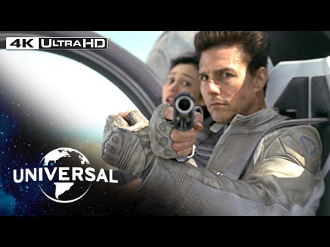 Video trailer för Oblivion | The Drone Chase in 4K HDR