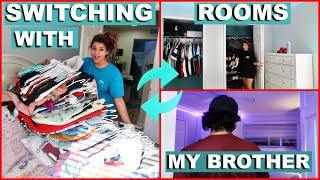 SWITCHING ROOMS WITH MY OLDER BROTHER ./KEILLY ALONSO