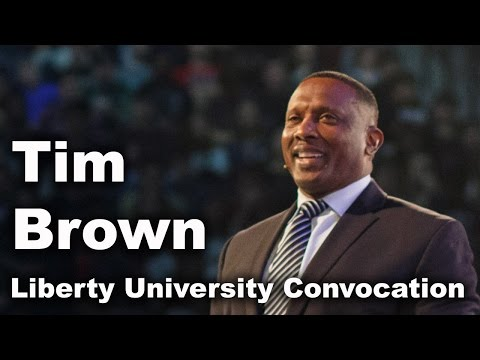 Tim Brown - Liberty University Convocation
