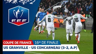 Coupe de France: Granville/Concarneau en 16èmes de finale