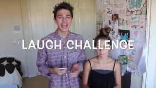 Laugh Challenge (w/ Lexi) | Brent Rivera