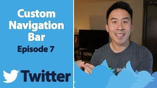 Swift 3: Twitter - Custom Navigation Bar (Ep 7)