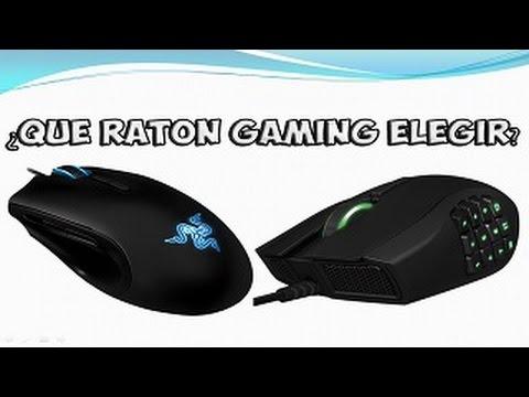 ¿Qué ratón gaming elegir?