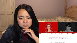 Halsey   SUGA's Interlude + Lyrics REACTION