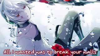 Nightcore - Wrecking Ball (Male Version) || Lyrics「Miley Cyrus」