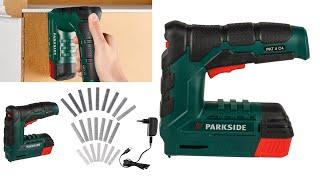 Parkside Cordless Nailer/Stapler PAT 4 C4 TESTING