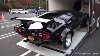 Unloading Lamborghini Countach LP 5000S