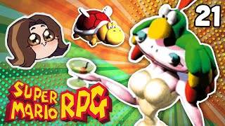 Shhh...quiet...this is a BOSS BATTLE! - Mario RPG