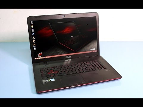 Asus G771JW Gaming Laptop Review