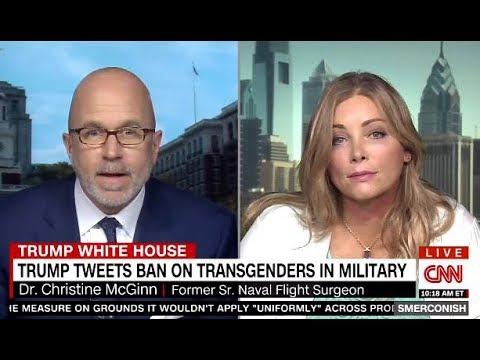Transgender EX-Navy Surgeon On TRUMP's Ban