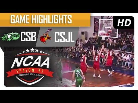 CSB vs. CSJL | NCAA 93 | MB Game Highlights | August 3, 2017