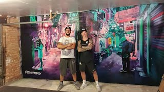 Private GYM Mural