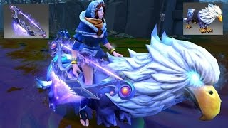 Dota 2 Mirana Mix Set Immortal Pulsar Remnant/Moon Griffon/Snowstorm Huntress