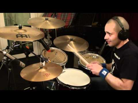"Alex Bonacci - ""All the Mornings of the World"" drums recording session"