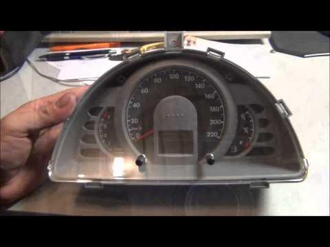 VW FOX Tacho Ausbau Reparatur Digisound Speedometer fix