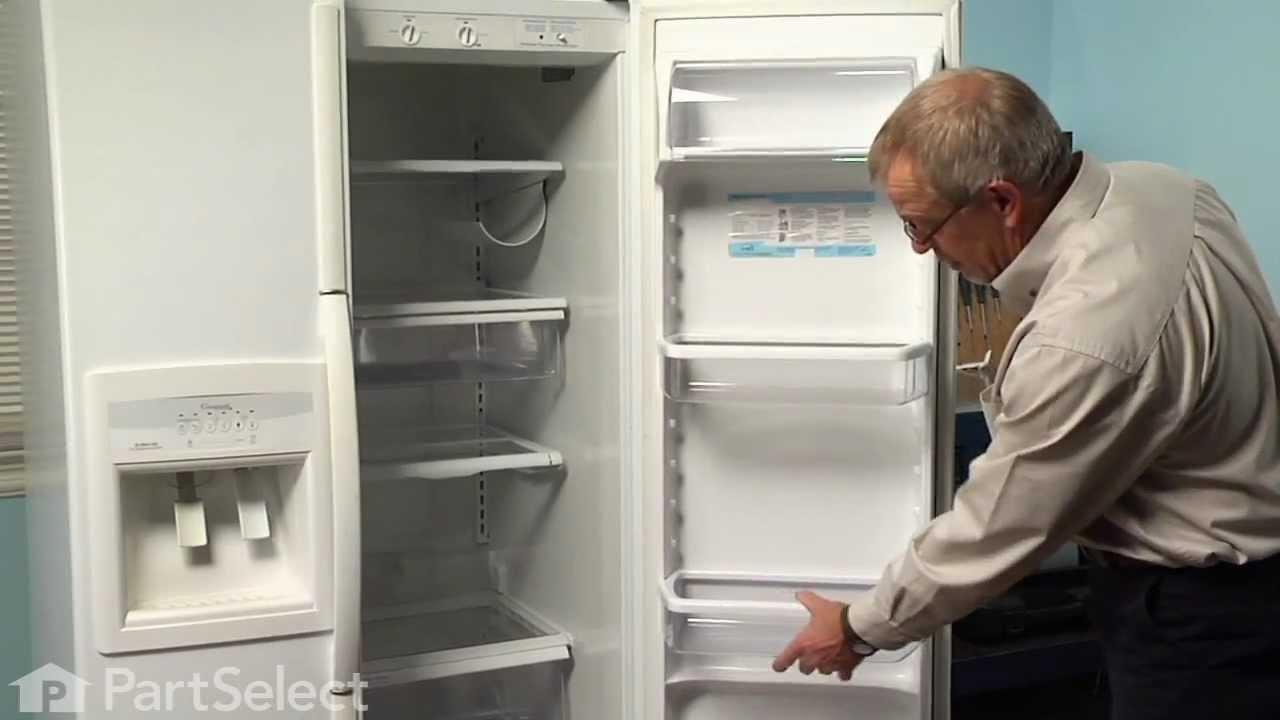 Replacing your Whirlpool Refrigerator Refrigerator Door Shelf Bin