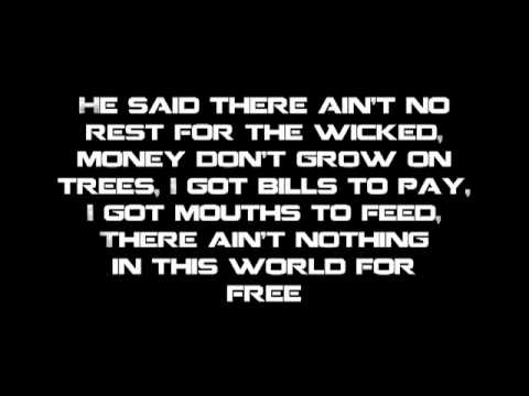 Cage The Elephant - Ain't No Rest For The Wicked [Lyrics]