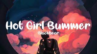 Blackbear   Hot Girl Bummer (clean   Lyrics)