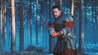 Максимус и преторианцы в лесу Гладиатор, сражение