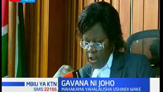 HABARI ZA HIVI PUNDE;Mahakama yahalalisha ushindi wa Gavana Ali Hassan Joho