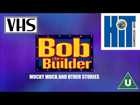 Opening to Bob the Builder: Mucky Muck UK VHS (2000)