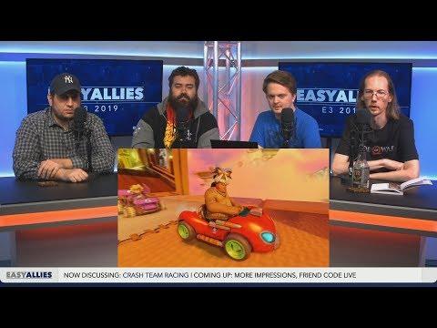 Crash Team Racing Nitro-Fueled (PS4/XO/NS) - TC X Easy Allies E3 2019 Impressions Day 4.3 Panel