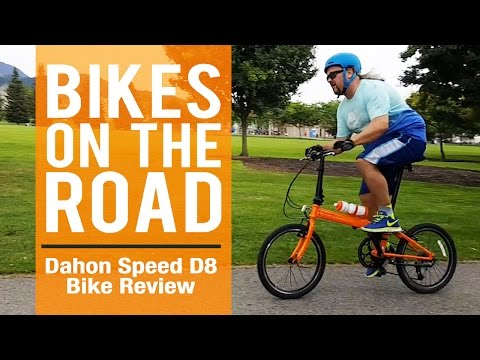 Dahon Speed D8 Folding Bike Review / ON THE ROAD