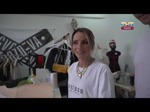 FUNBOX - Выпуск 81. Бэкстейдж клипа НАZИМЫ, платье своими руками