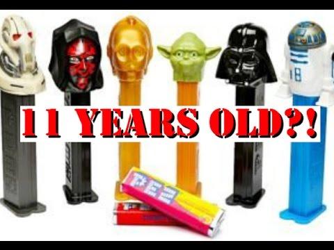 Taste Testing 11 Year Old Pez Candy!