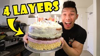 My INSANE DIY Birthday Cake! || Life After College: Ep. 606