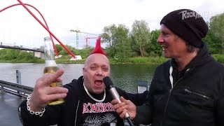 "The Exploited - ""Jello Biafra and Henry Rollins are liars"""