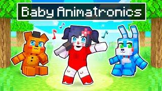 We Became BABY ANIMATRONICS In Minecraft!