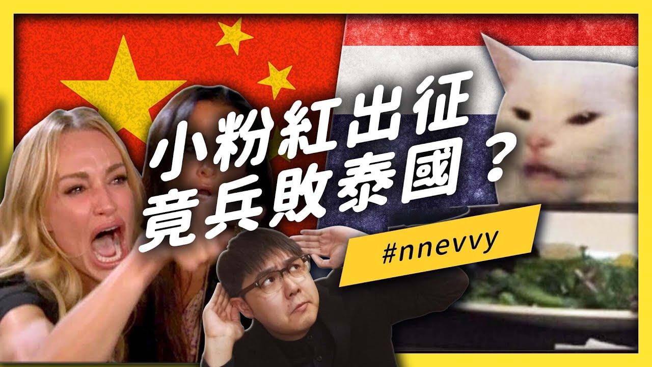 泰幽默!刷爆推特的#nnevvy大戰!無往不利的小粉紅為何慘遭滑鐵盧?《左邊鄰居觀察日記》EP021| 志祺七七