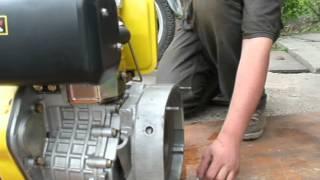 Первый запуск дизельного двигателя