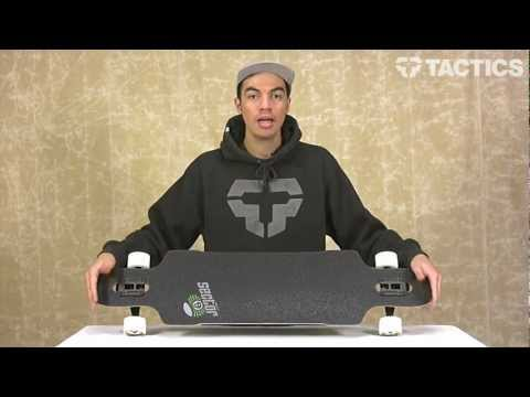 Sector 9 Dropper 41.8 Inch Platinum Drop Through Complete Longboard Review – Tactics.com