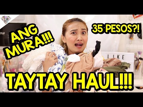 ANG MUMURA! TAYTAY HAUL PART 2|  AS LOW AS PHP 35! SERYOSO?!