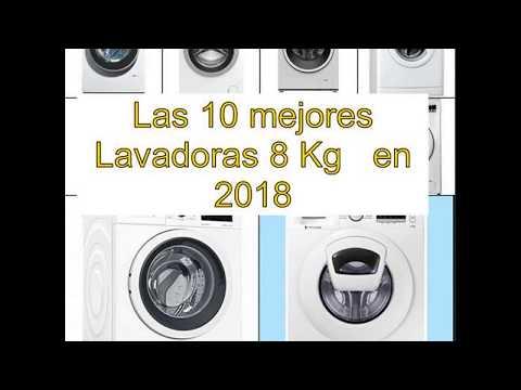 Las 10 mejores Lavadoras 8 Kg   en 2018
